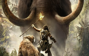 Picture Tiger, Far Cry, Ubisoft, Primal, Mammoth