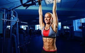 Picture smile, exercise, fitness, gym