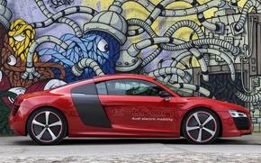 Picture wallpapers, Prototype, car, side view, auto, e-Tron, Audi