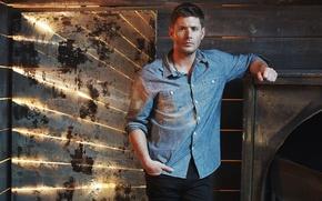 Picture actor, Supernatural, Jensen Ackles, Supernatural, Dean Winchester, Jensen Ackles, promo