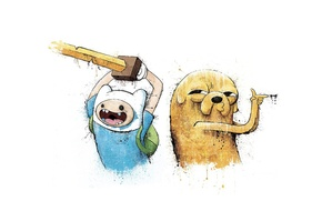 Wallpaper Adventure Time, Adventure time, Finn and Jake