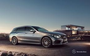 Wallpaper Mercedes-Benz, Mercedes, universal, 2014, C-class, S205