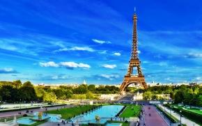 Picture France, France, Paris, Europe, Paris, Tower, Europe, Eiffel Tower