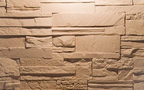 Picture wall, stone, masonry, the volume, veneer