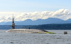 Picture submarine, class, Ohio, (SSBN-735), USS Pennsylvania