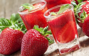 Picture berries, strawberry, juice, red, red, fresh, ripe, sweet, strawberry, berries