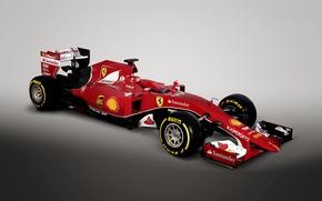 Wallpaper Ferrari, Ferrari, formula 1, 2015, SF15-T