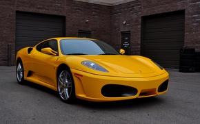 Picture F430, Ferrari, yellow