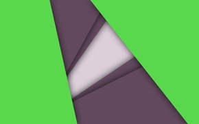 Wallpaper white, line, lilac, geometry, green, android, material