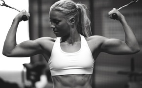 Picture pose, model, figure, fitness, press, fitness, gym, abs