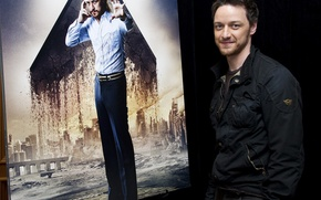 Picture James McAvoy, X-men:Days of future past, press conference
