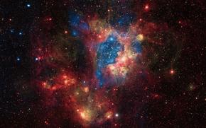 Picture BMO, LMC, The Large Magellanic Cloud, galaxy