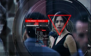 Picture Sarah Shahi, Person of Interest, POI, Sameen Shaw