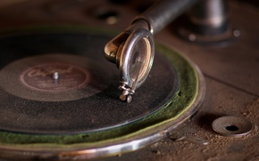 Picture music, vinyl, phonograph