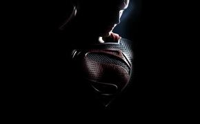 Picture Superman, twilight, poster, comics, Superman, Man of steel, Man of Steel