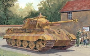 Picture Germany, Tank, the Germans, the Wehrmacht, Royal tiger