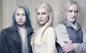 Picture the series, Defiance, Call, Jaime Murray, Jesse Rath, Tony Curran