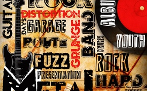 Picture style, music, guitar, music, metal, guitar, Rock, rock, directions, band, grunge, picture, album, route, distortion