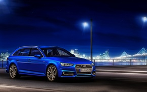 Wallpaper Audi, Audi, TDI, blue, quattro, universal, Before, 2015