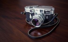 Picture macro, background, camera, Leica M3