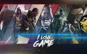 Picture Call of Duty, The Witcher, Batman, Mortal Kombat, Unity, Arkham Knight, Advanced Warfare, Igors, METAL …