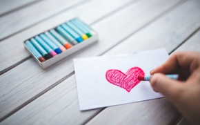 Picture Love, heart, romantic, paper