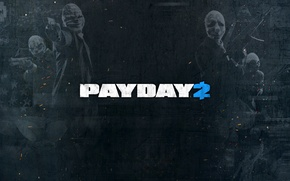 Picture Wolf, Game, Dallas, Payday 2, Hoxton, Chains