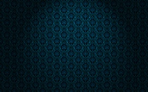 Picture blue, Wallpaper, black, ornament, material