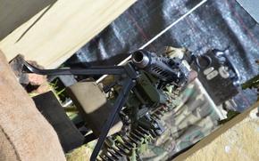 Picture the barrel, MG-42, machine gun