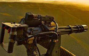 Picture weapons, minigun m134, helicopter machine gun