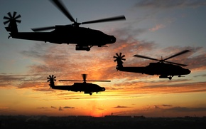 Wallpaper graphics, helicopters, aviation
