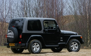 Picture uk-spec, wrangler, Jeep, sahara