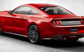 Picture Mustang, Ford, Auto, Machine, Car, 2015, EcoBoost
