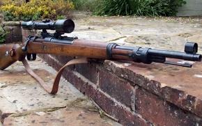 Wallpaper Mauser, Mauzer, K-98
