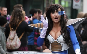 Picture Dragon Ball, uniform, Jessica Nigri, saiyajin