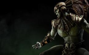 Picture God, character, Mortal Kombat X, Kotal Kahn, Kotal Kahn, Mortal Kombat 10