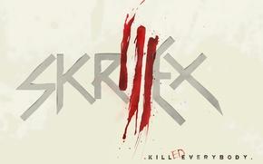 Picture blood, blood, kill, dubstep, skrillex, dubstep, stuff