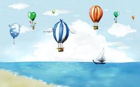 Picture style, balls, flight