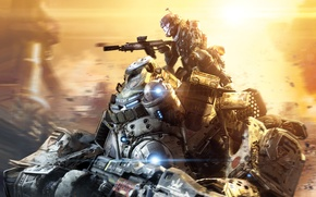 Picture Electronic Arts, 2014, Titanfall, Respawn Entertainment