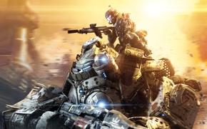 Wallpaper Titanfall, Respawn Entertainment, Electronic Arts, 2014