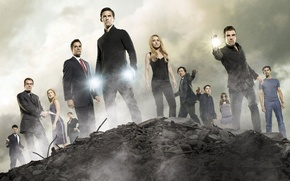 Wallpaper Hayden Panettiere, the series, heroes, Ali Larter, heroes, James Lee Kyson, Peter Petrelli, Ando Masahashi, ...