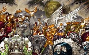 Picture space Marines, Warhammer 40k, orders, heresy, the Emperor, Astartes, Adeptus, primary, Holy, chorus, Terra