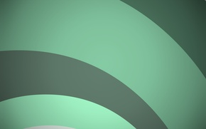 Picture circles, abstraction, green, geometry, green, emerald