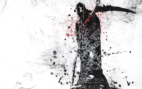 Wallpaper Vector, Skull, Death, Grunge, Sake, Vector, Wallpaper, Death, Grunge