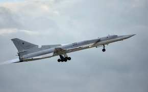 Wallpaper weapons, the plane, TU-22M3