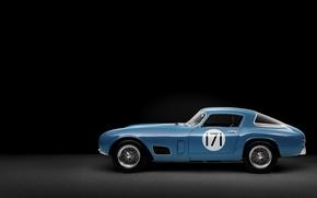 Picture machine, Ferrari, cars, 1956, Berlinetta, 250 GT, Tour de France, Race Car, classic