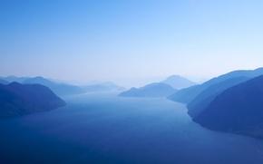 Picture landscape, island, Princess Royal Island