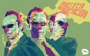 Picture figure, matrix, agent Smith, agent smith, the matrix