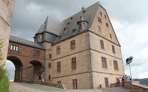 Picture old, the city, house, castle, Wallpaper, beautiful, Germany, the middle ages, original, Marburg