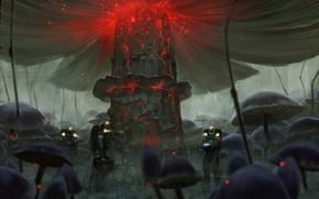 Picture Apocalypse, mushrooms, radiation, Romantically Apocalyptic, costumes, alexiuss